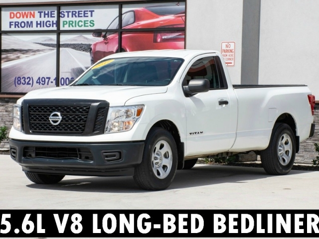 2017 Nissan Titan Single Cab V8 Bluetooth Bedliner Automatic