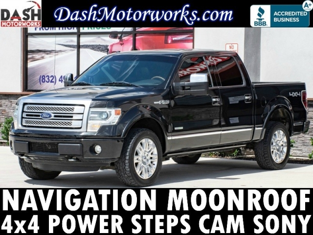 2013 Ford F-150 Platinum 4x4 EcoBoost Navigation Camera Sunr