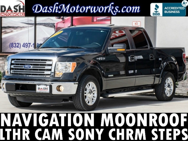 2013 Ford F-150 Lariat EcoBoost SuperCrew Navigation Sunroof