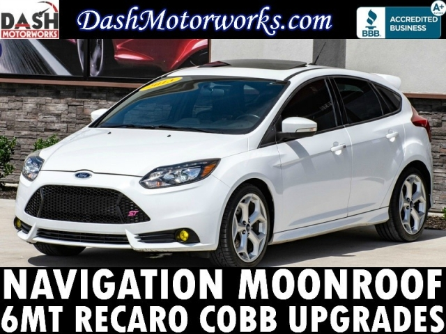 2013 Ford Focus ST Navigation Sunroof Leather Recaro Sony