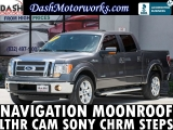Ford F-150 Lariat EcoBoost SuperCrew Navigation Sunroof 2012