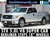 Ford F-150 SuperCab STX 5.0L V8 Bedliner Steps 6-pass 2013