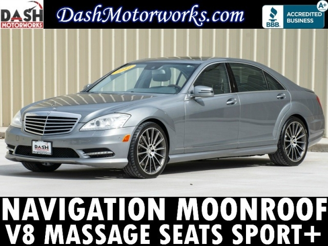 2011 Mercedes-Benz S-Class S550 Navigation Massage Seats AMG Sport Pk