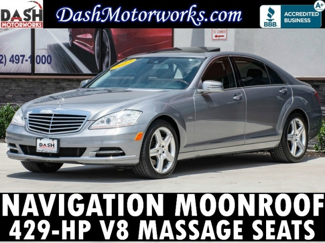 2012 Mercedes-Benz S-Class S550 Navigation Massage Seats AMG Sport Pk