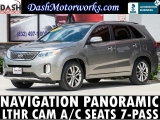 Kia Sorento SX Limited Navigation Panoramic Camera Lea 2014