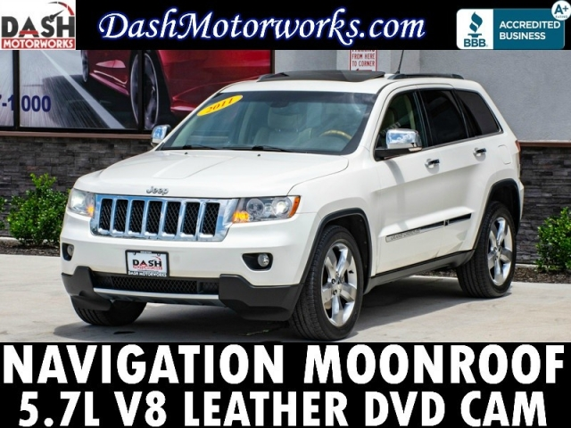 2011 Jeep Grand Cherokee Overland HEMI V8 Navigation Sunroof