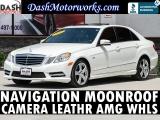 Mercedes-Benz E350 Sport Sedan Navigation Camera Sunroof Leather 2012