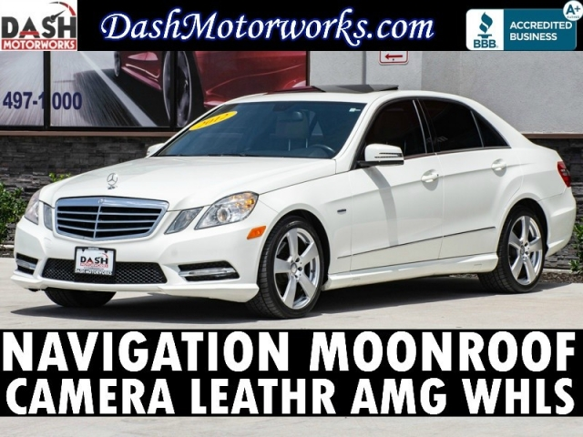 2012 Mercedes-Benz E350 Sport Sedan Navigation Camera Sunroof Leather