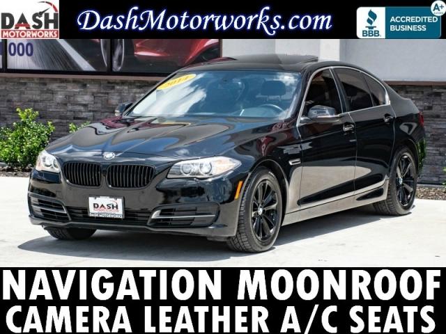2014 BMW 528i Premium Navigation Camera Sunroof Cooled Seat