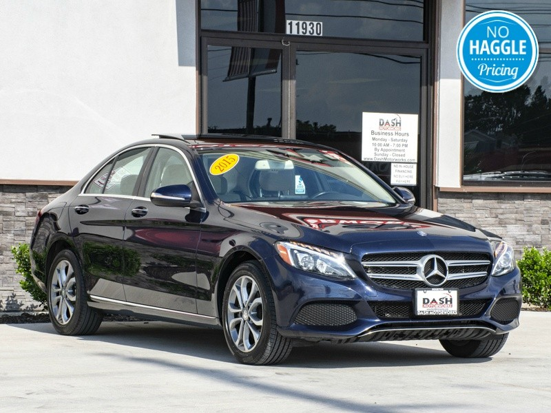 Mercedes-Benz C300 4Matic Panoramic Burmester Camera Leather 2015 price $18,985