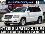 Toyota Highlander Hybrid Limited V6 Leather 7-Pass 2006