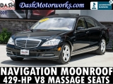 Mercedes-Benz S550 Navigation Camera Massage Seats 2012
