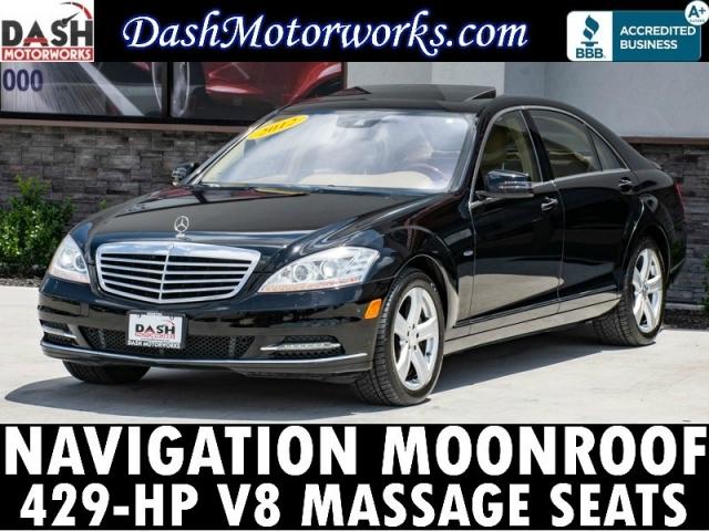 2012 Mercedes-Benz S550 Navigation Camera Massage Seats