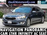 Kia Cadenza Navigation Sunroof Camera Infinity Leather 2014