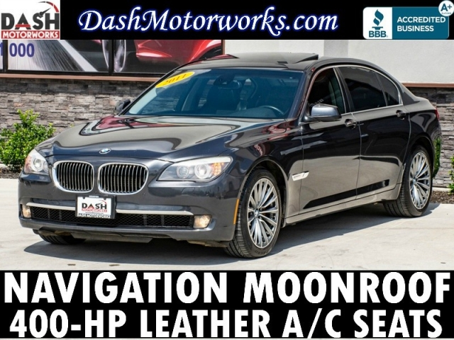 2011 BMW 750Li Navigation Camera Sunroof Leather