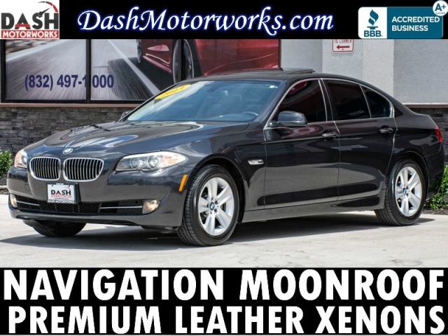 2013 BMW 528i Premium Navigation Sunroof