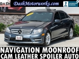 Mercedes-Benz C250 Sport Sedan Navigation Camera Moonroof Leathe 2013
