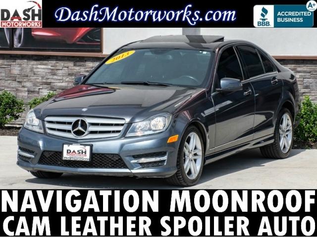 2013 Mercedes-Benz C250 Sport Sedan Navigation Camera Moonroof L