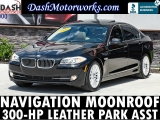 BMW 535i Navigation Camera Sunroof Leather 2012