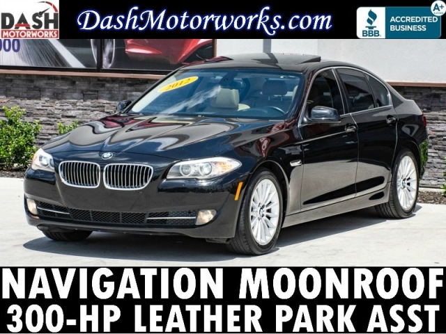 2012 BMW 535i Navigation Camera Sunroof Leather