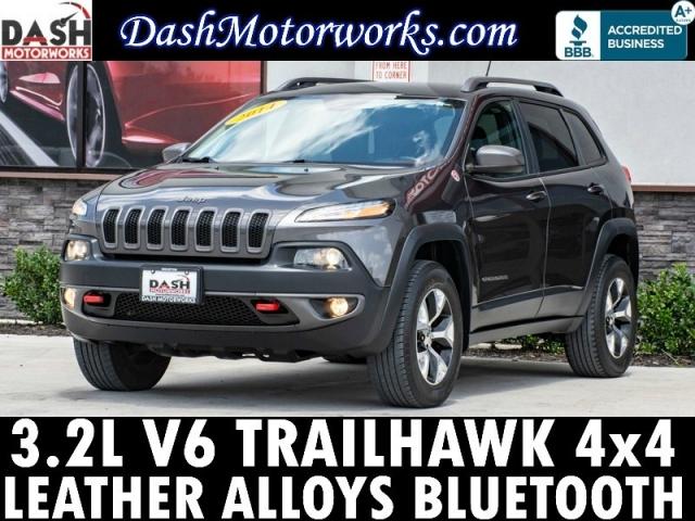 2014 Jeep Cherokee Trailhawk 4x4 V6 Auto Alloys