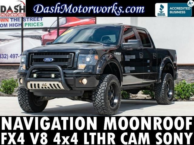 2013 Ford F-150 FX4 SuperCrew V8 Navigation Camera Sunroof L