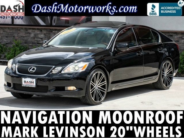 2007 Lexus GS 350 Navigation Camera Mark Levinson 20-in Wheel