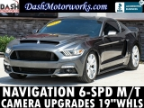 Ford Mustang EcoBoost Navigation Camera 6-Speed Manual 2015