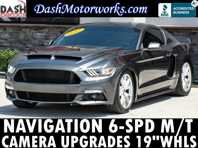 2015 Ford Mustang EcoBoost Navigation Camera 6-Speed Manual