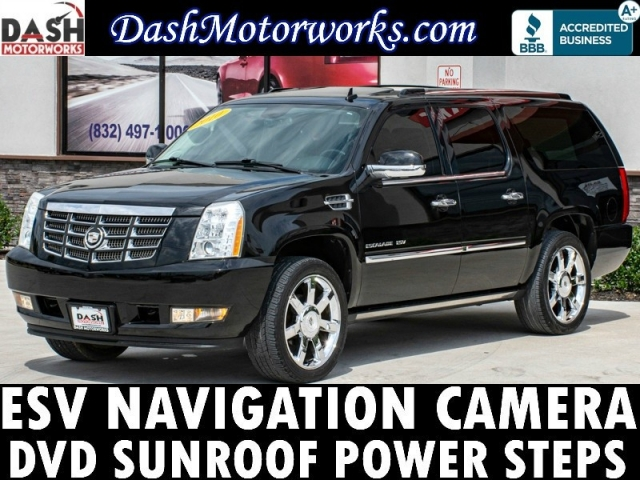 2010 Cadillac Escalade ESV Premium Navigation Camera Bose DVD Po