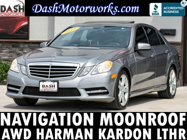 2013 Mercedes-Benz E350 Sport 4MATIC Navigation Sunroof Camera