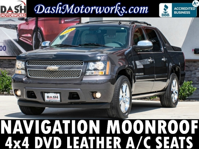 2011 Chevrolet Avalanche LTZ 4x4 Navigation Camera DVD Sunroof Le