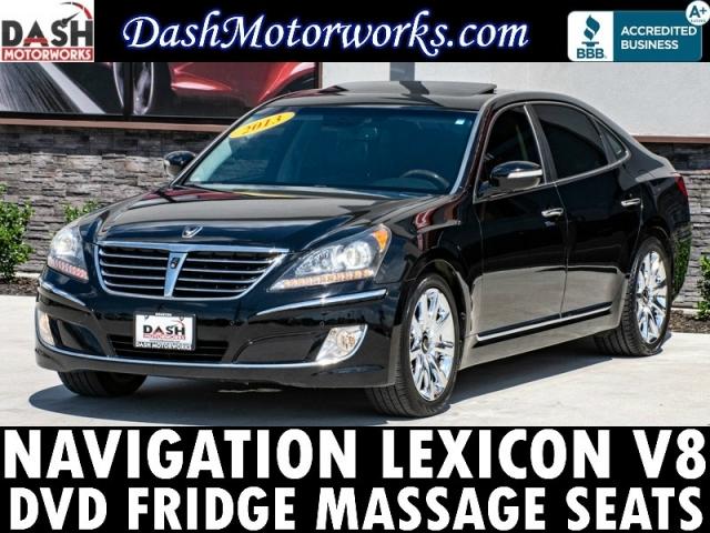 2013 Hyundai Equus Navigation Lexicon Camera Cooled Seats