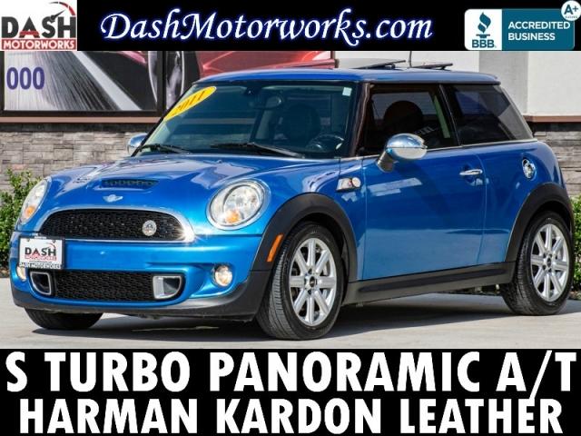 2011 Mini Cooper S Panoramic Leather Harman Kardon Auto