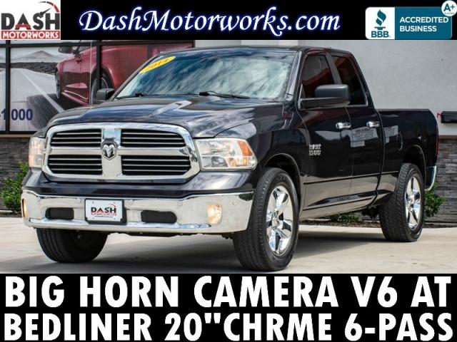 2014 RAM 1500 SLT Big Horn V6 Camera Quad Cab Chrome 6-Pass