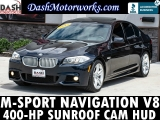 BMW 550i M-Sport Navigation Camera Sunroof Auto 2012
