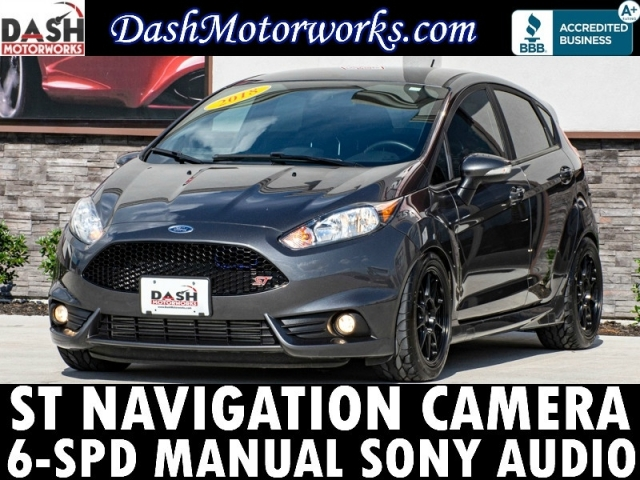 2018 Ford Fiesta ST Camera Sony 6-Speed Manual