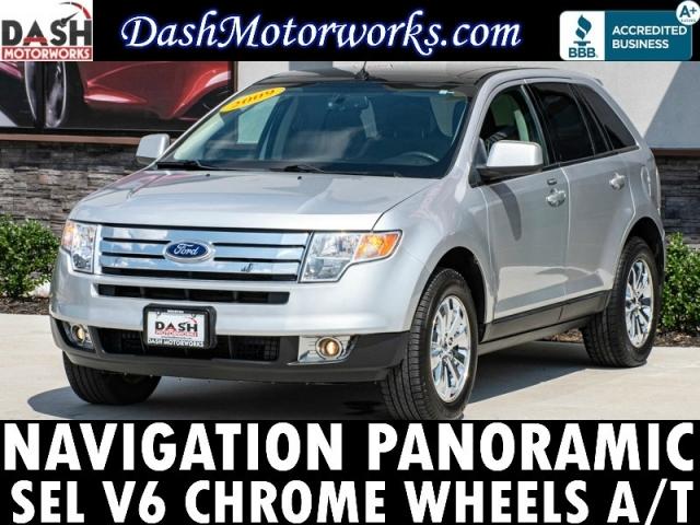 2009 Ford Edge SEL V6 Navigation Panoramic Chrome