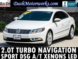 Volkswagen CC Sport 2.0T Navigation Leather Xenons LED 2014