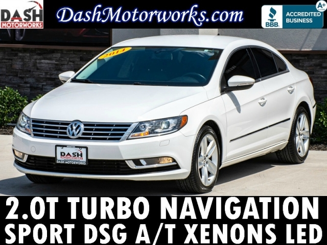2014 Volkswagen CC Sport 2.0T Navigation Leather Xenons LED