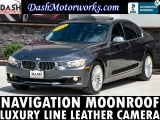 BMW 328i Sedan Luxury Line Navigation Camera Sunroof L 2014