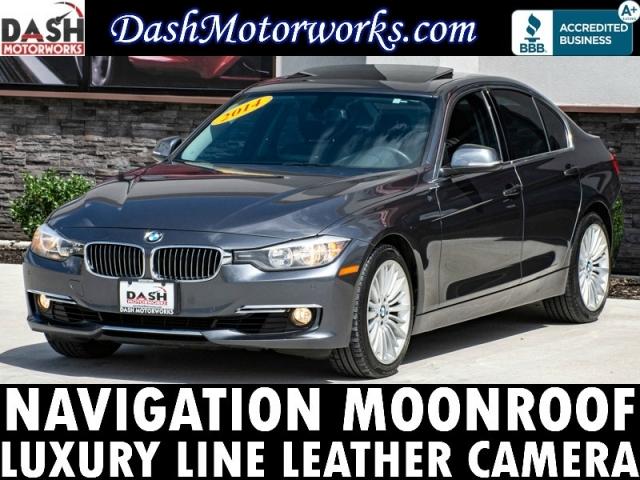 2014 BMW 328i Sedan Luxury Line Navigation Camera Sunroof L