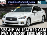 Infiniti Q50 Sedan Premium Moonroof Leather Bose Auto 2014