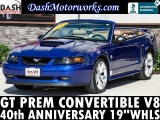 Ford Mustang GT Convertible 40th Anniversary Leather Au 2004