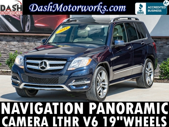 2015 Mercedes-Benz GLK 350 Premium Navigation Panoramic Camera Leathe
