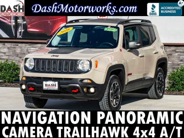 2016 Jeep Renegade Trailhawk 4x4 Navigation Panoramic Camera