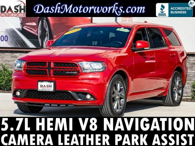 2014 Dodge Durango R/T HEMI V8 Navigation Camera Leather