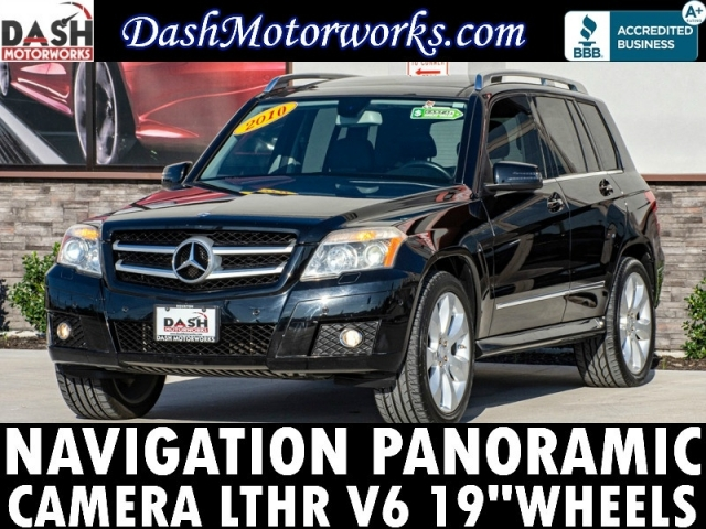 2010 Mercedes-Benz GLK 350 Premium Navigation Panoramic Camera Leathe