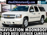 Chevrolet Suburban LTZ Navigation Camera Sunroof DVD Leather 2012
