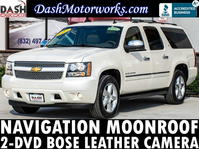2012 Chevrolet Suburban LTZ Navigation Camera Sunroof DVD Leather